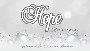 Hope Women's Ministry Christmas Luncheon