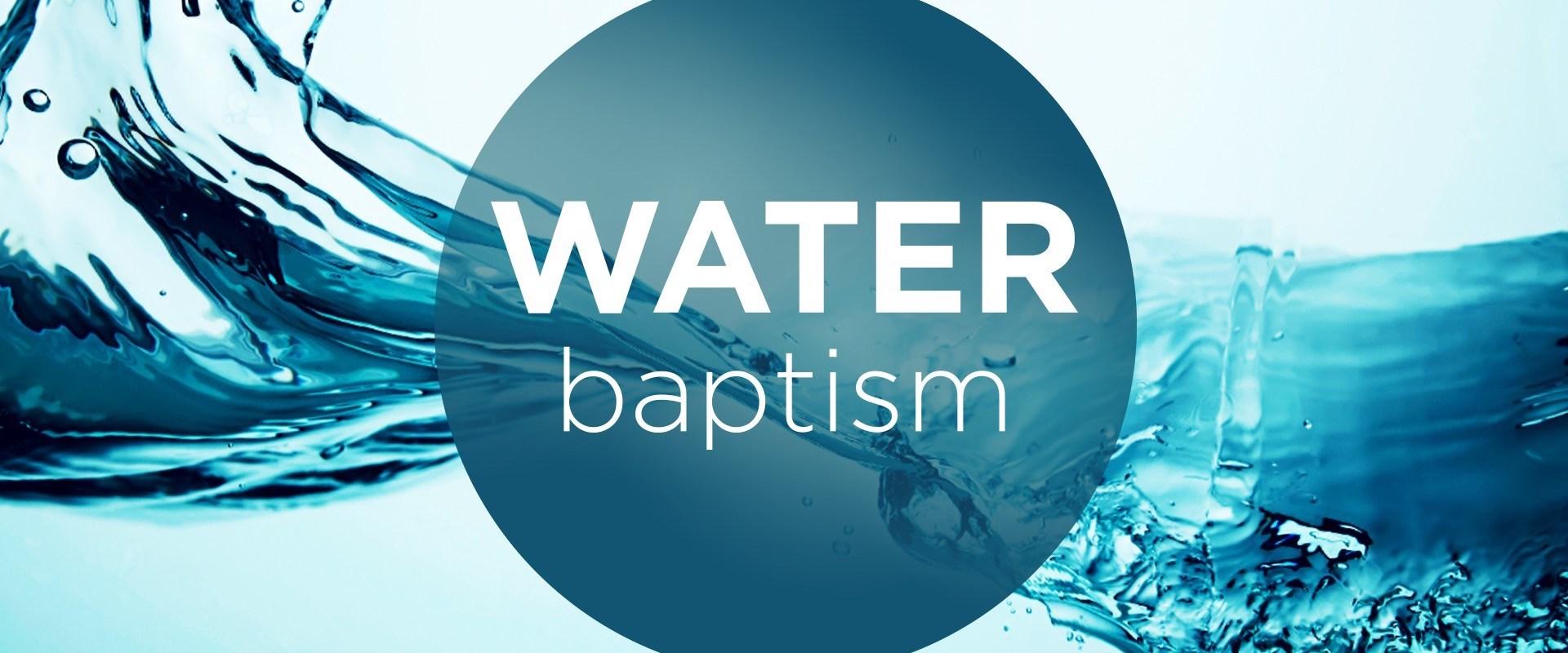 Water Baptism Calvary Houston