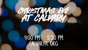 CHRISTMAS AT CALVARY HOUSTON